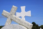 Crosses By The Sea