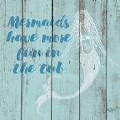 Mermaid Saying I