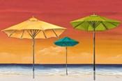 Tropical Umbrellas I