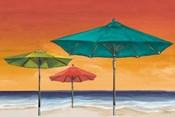 Tropical Umbrellas II
