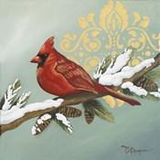 Winter Red Bird II
