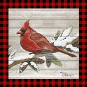 Winter Red Bird IV