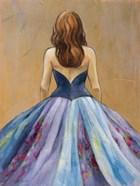 Still Woman In Dress