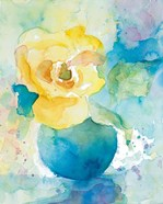 Abstract Vase of Flowers I
