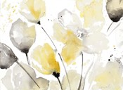 Neutral Abstract Floral II