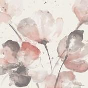 Neutral Pink Floral I