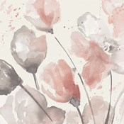 Neutral Pink Floral II