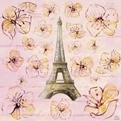 Golden Paris on Floral I