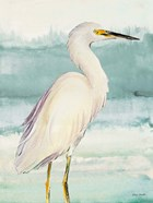 Heron on Seaglass II