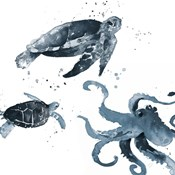 Navy Ink Sea Life