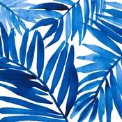 Blue Palm Design I