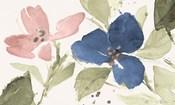 Watercolor Blooms I
