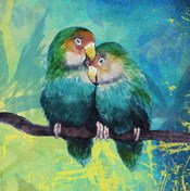 Tropical Birds in Love I