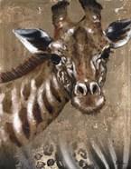 Giraffe on Print