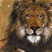 Lion on Gold