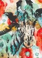Vibrant Giraffe