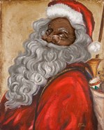 African American Jolly St. Nick