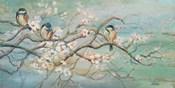 Spring Branch with Birds