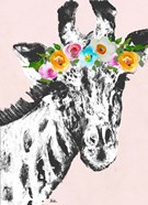 Flower Crown Giraffe