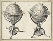 Antique Terrestrial & Celestial Globes