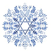 Indigo Hanukkah I