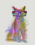 Cat Rainbow Splash 5