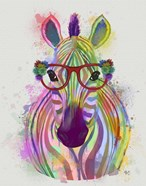 Zebra Rainbow Splash 1
