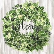 Welcome Wreath II
