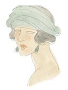 Flapper Fashion Sketches IV
