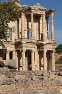 Turkey, Izmir, Kusadasi, Ephesus The Library Of Ephesus