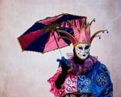 Elaborate Costume For Carnival, Venice, Italy