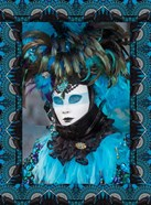 Elaborate Masked Costume For Carnival, Venice, Italy 19