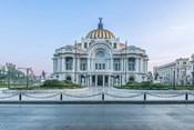 Mexico City, Palacio De Bella Artes At Dawn
