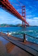 Beneath The Golden Gate Bridge