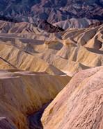 California, Death Valley NP, At Zabriskie Point