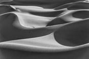 Desert Dunes, California (BW)