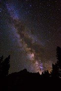 The Milky Way Over The Palisades