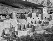 Cliff Palace, Mesa Verde, Colorado (BW)