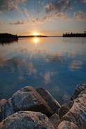 Sunset On Kabetogama Lake, Voyageurs National Park