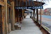 Tobacco Gold Rush Store In Virginia City, Montana