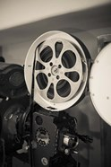 Vintage Film Projector At The Kimo Theater, New Mexico