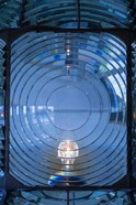 Close Up Of The Antique Fresnel Lighthouse Beacon, Fire Island