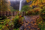 South Falls In Autumn, Oregon