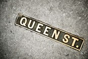 Queen St Sign, Charleston, South Carolina