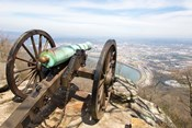 Cannon Perched On Lookout Mountain, Tennessee