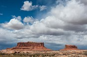 Mesas And Thunderclouds Over The Colorado Plateau, Utah