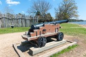 Jamestown Island Cannonm Virginia