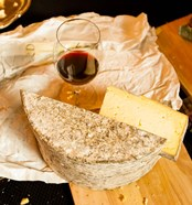 Wine And Artisanal Cheese Event At A Tasting Room