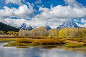 Grand Teton National Park Panorama, Wyoming