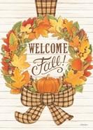 Welcome Fall Wreath